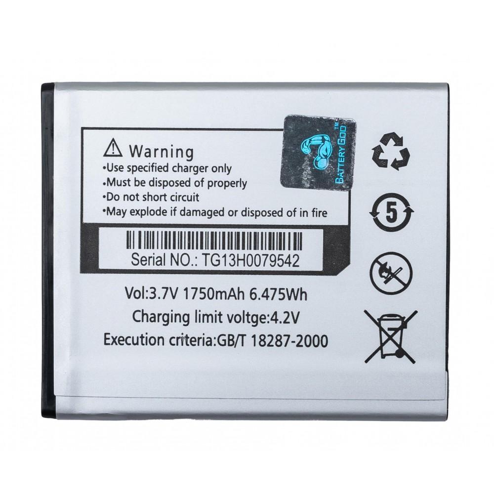 BATTERYGOD Full Capacity Proper 1750 mAh Battery for Lava A68 /A59 /LEB073 /LEB-073