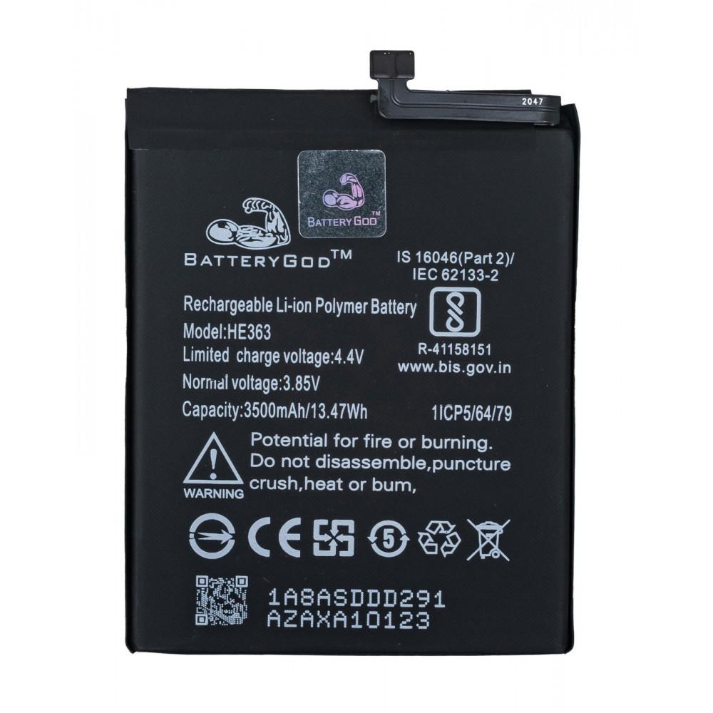 BATTERYGOD Full Capacity Proper 3500 mAh Battery For Nokia 8.1 / 3.1 Plus / 3.1+ / 7.1 Plus / 7.1+ / TA-1119 / TA-1128 / TA-1131 / HE-363 / HE363