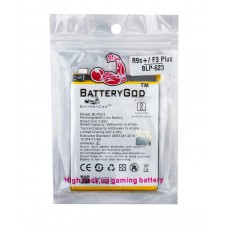 BATTERYGOD  Full Capacity Proper 4000 mAh Battery For OPPO R9s+/F3PLUS/  BLP-623/ BLP623