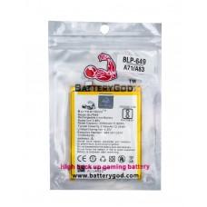 BATTERYGOD Full Capacity Proper 3180 mAh battery for Oppo A83 / BLP649 / BLP-649