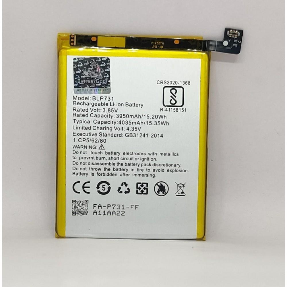 BATTERYGOD Full Capacity Proper 4035 mAh Battery For Realme 5 Pro BLP-731 / BLP731