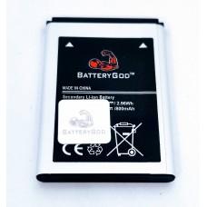 BATTERYGOD Full Capacity Proper 800 mAh Compatible Battery for Samsung Guru X200 / GT-E1200Y / C512 / X208 / 1258 / 1250 / S3030 / E3100 / S5150 / X210 / X160 / S208 / F519 / AB463446BN