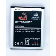 BATTERYGOD Full Capacity Proper 2100 MAh Battery For Samsung Galaxy Grand / I9082 / 9082 / I9080 / 9080 / 9060 / I9060 / EB535163LU