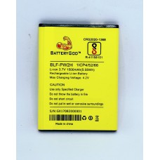 BATTERYGOD Full Capacity Proper 1500 mAh Mobile Battery for Lephone W2 / BLF-PW2H / BLFPW2H