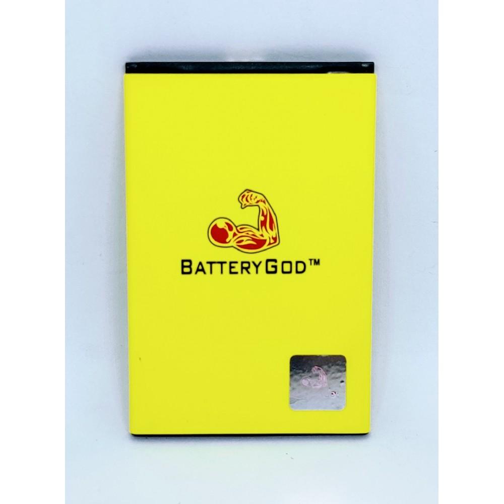 BATTERYGOD Full capacity Proper 1800 mAh Mobile Battery for Lephone W15 / BLF-PW15i / BLFPW15i