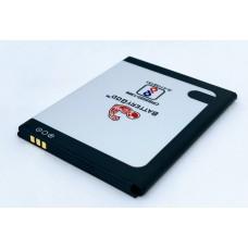BATTERYGOD Full Capacity Proper 2500 mAh Battery For Panasonic P55 Novo / DESP2500AA