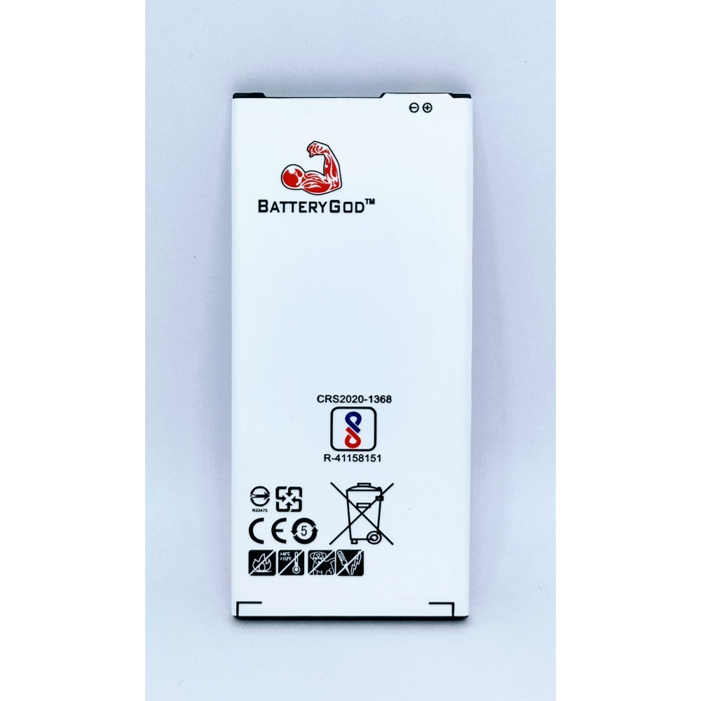 BATTERYGOD Full Capacity Proper 3300 mAh Battery for Samsung Galaxy A7 (2016) / A7 16 / A710 / EB-BA710ABE