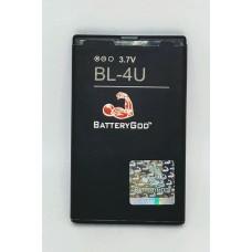 BATTERYGOD Full Capacity Proper 1350 mAh Battery For Nokia 3120 Classic / 5250 / 5330 / BL4U / BL-4U