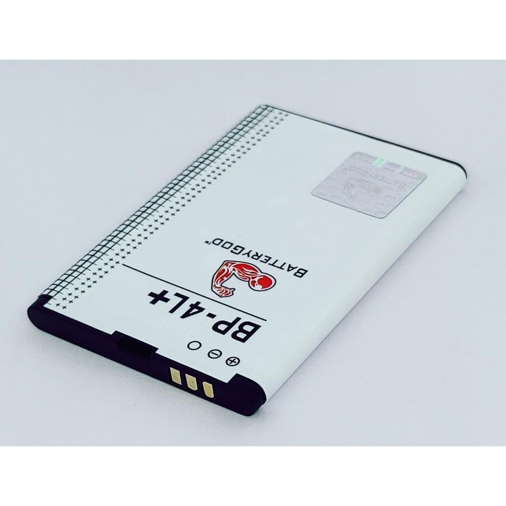 BATTERYGOD Full Capacity Proper 1500 mAh Battery For Intex Aqua 4L Plus / 4L+ / IP-4L+ / IP4L+ Plus/ BP-4L+ / BP-4L Plus / BP4L+