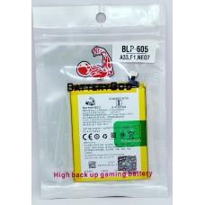 BATTERYGOD Full Capacity Proper 2500 mah Battery For Oppo A33 / Neo7 / Neo-7 / OPPO F1 / BLP-605 / BLP605