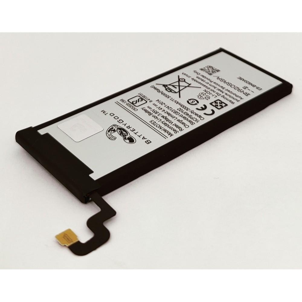 BATTERYGOD High Capacity 3000 mAh Battery for Samsung Galaxy Note 5 / Note5 / N9200 / N920T / N920C / N9208 / SM-N9208 / EB-BN920ABE