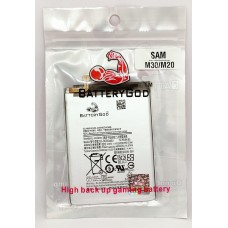 BATTERYGOD Full Capacity Proper 5000 mAh Battery for Samsung Galaxy M30 / M20 / SM-M205F / M205F / EB-BG580ABU