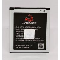 BATTERYGOD Full Capacity Proper 2000 mAh Battery for Samsung Galaxy Core 2 / Grand Quattro / i8552 / 8552 / G355 / i8530 / i869 / G355H / EB585157LU