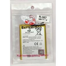 BATTERYGOD Full Capacity Proper 4000 mAh Battery For Tecno Camon iSky3 / Camon i4 / Camon 11S / Tecno Spark 3 / KB3 / CB7 / CB7J / KB7 / KB7J / BL34CT / BL-34CT