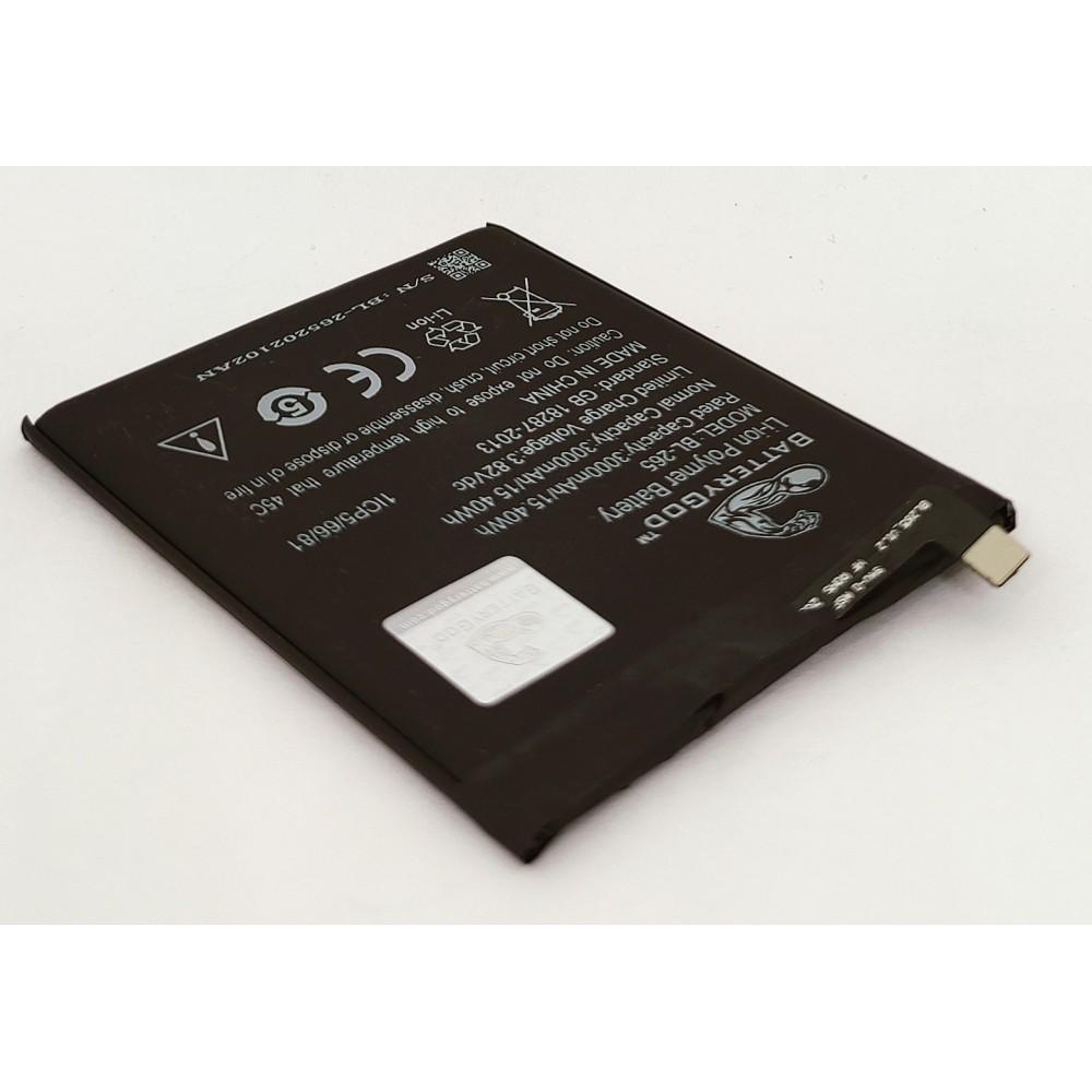 BATTERYGOD Full Capacity Proper 3000 mAh Battery For Lenovo / XT1662 / XT1662 / XT1663 / BL-265 / BL265