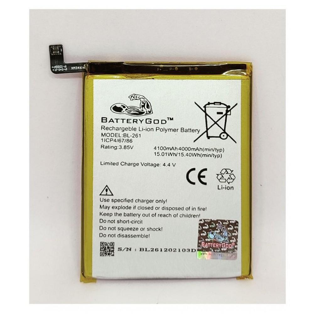 BATTERYGOD Full Capacity Proper 4100 mAh Battery For Lenovo Vibe K5 Note / A7020a40 / A7020a48 / Lemon K5 Note / K52t38 / K52e78 / BL261 / BL-261