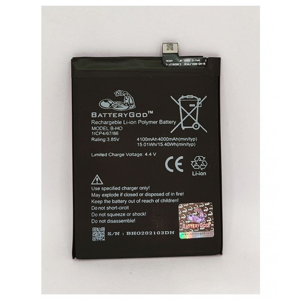BATTERYGOD Full Capacity Proper 4100 mAh Mobile Battery For Vivo S1 / BH0 / B-H0