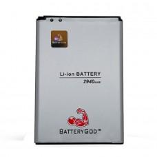 BATTERYGOD Full Capacity Proper 2940 mAh Battery For LG G3 / BL-53YH / BL53YH