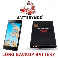 BATTERYGOD Full Capacity Proper 2250 mAh Battery For LYF Wind 6 / Wind 7 / RLC03A