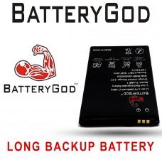 BATTERYGOD Full Capacity Proper 2000 mAh Battery For LYF Flame 1 / Flame 8 / RLC01A
