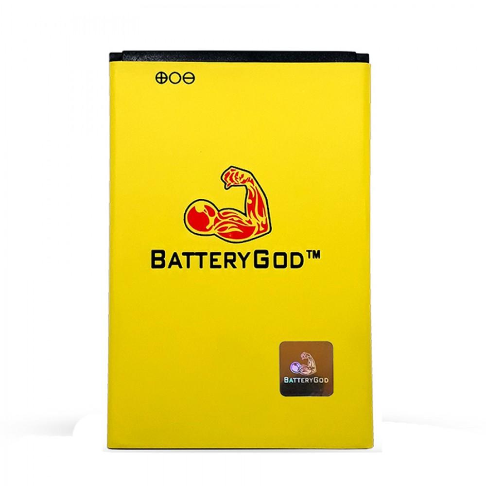 BATTERYGOD Full Capacity Proper 2000 mAh Battery For Lephone W7 / BLF-PW12i / BLF PW12i / BLFPW12i
