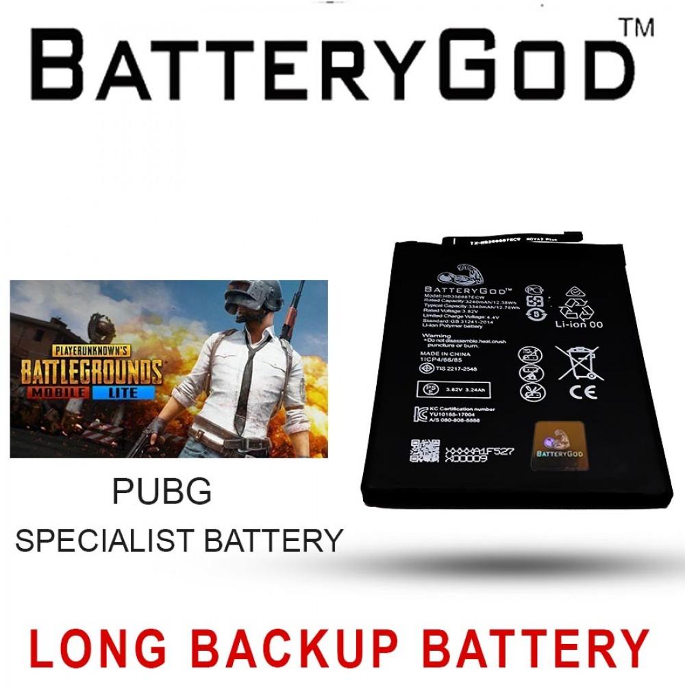 BATTERYGOD Full Capacity Proper 3340 mAh Battery For Huawei Honor 7X / 9i / 3i / HB356687ECW
